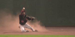 Minor Leaguer Channels Willie Mays, Makes Ridiculous Catch
