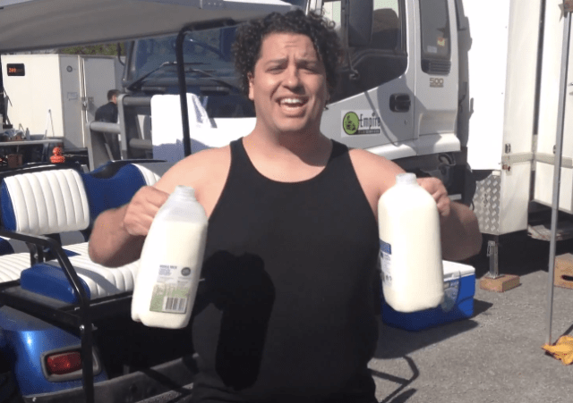 the-rock-milk-challenge