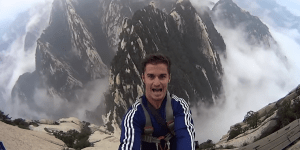 Have You Ever Wondered What It Would Be Like To Shit Your Pants Off The Side Of A Mountain?