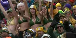 Green Bay Packers Fan Is Upset With All The Bras At Lambeau Field