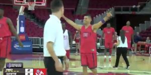 Fresno State's Cezar Guerrero Sank Five Half-Court Shots In A Row
