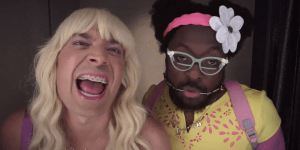 Jimmy Fallon And Will.i.am Give The 'Ew' Sketch The Music Video It Deserves…And I Just Died Laughing