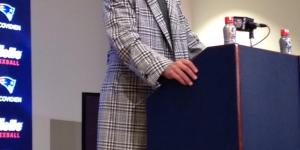 Tom Brady Wore A Truly Fantastic Jacket At His Postgame Press Conference