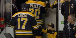 Your Heart Will Melt Watching This Young Bro Gives Fist Bumps To The Boston Bruins
