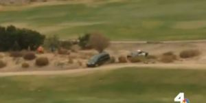 Wild Police Chase Careens Through Golf Course, Ends In Fatal Shooting