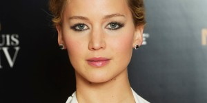 Jennifer Lawrence Showed Off Some Killer Cleavage At 'The Hunger Games' London Premiere
