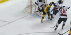 Boston Bruins' Seth Griffin Scored A Remarkable Between-The-Legs Goal