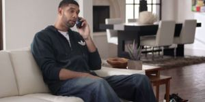 You Won't Believe How Animated Tim Duncan Got For This Foot Locker Commercial