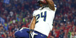 The NFL Is Selling A Picture Of Marshawn Lynch's 'Hold My Dick' Celebration That Got Lynch Fined 20k