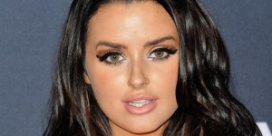 Abigail Ratchford Was Busting Out Of Her Sexy Dress At The 'Manny' Premiere