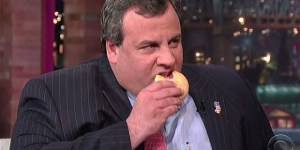 Chris Christie Overheard Calling Philly Fans The 'Worst' Which Means He Stopped Chewing For At Least A Couple Seconds