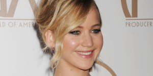 Jennifer Lawrence's Cleavage, Funny Speech Won The Producers Guild Awards