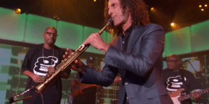 Warren G And Kenny G Kill It With Their Mashup Of 'Regulate' On Jimmy Kimmel