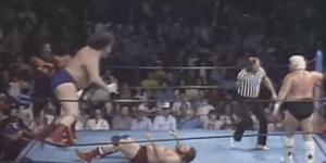 Andre The Giant Attempting To Jump Off The Top Rope Is Something You Don't See Every Day — AND THANK GOD
