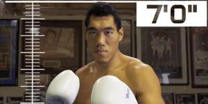 Meet Taishan Dong, A 7-Foot Tall, Ivan Drago-Like Chinese Boxer Who You Will Call 'The Seven-Foot Dong'
