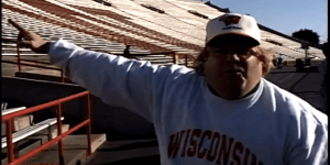 Wisconsin Football Released Rare Footage Of Chris Farley As Matt Foley, And I Really Miss That Big Guy