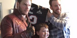Chris Pratt's Super Bowl Bet Is Paid, Appears As Star-Lord At Children's Hospital
