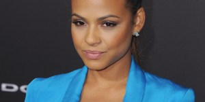 Christina Milian Almost Had A Nip-Slip Because Of The INSANE Amount Of Cleavage She Was Showing
