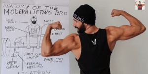 The Anatomy Of The Modern Lifting Bro, Brought To Us By Professor Dom Mazzetti