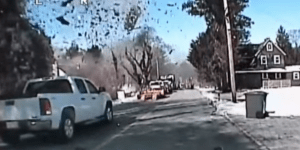 Home Turns To Dust In Seconds When Gas Leak Causes Massive Explosion (Dashcam Footage)