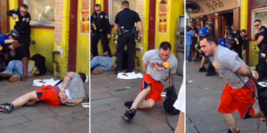 Dude In Handcuffs Makes Incredibly Daring Escape From Austin Police At SXSW