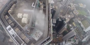 Try Not To Barf Watching This POV Video Of An Insane Person Scaling A 700-Foot Tall Skyscraper