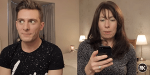 Watch This Horrified Mom Read Her Son's Grindr Messages And Be Glad Your Parents Don't Know Your Phone's Passcode