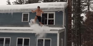 All Of Boston Has Spent The Worst Winter In History Doing EXTREME Bellyflops In The Snow