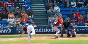 Check Out This Bomb Shot Bryce Harper Hit Completely Out Of A Spring Training Stadium