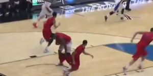 Dayton Player Dyshawn Pierre's Shorts Fall Down, Create 'One Flashing Moment'