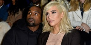 Kim Kardashian Goes Braless In Completely See-Through Dress At Paris Fashion Week