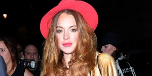 Lindsay Lohan Was Rocking One Sweet Outfit As She Did Some 'Work' At A Club