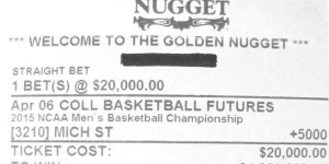 U. Of Michigan Alum Could Win $1M On Michigan State In NCAA Tourney, Is World's Worst Sports Fan