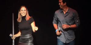 Watch Miami Heat Coach Erik Spoelstra And His Smoking Hot Girlfriend Nikki Sapp Sing 'Billie Jean'