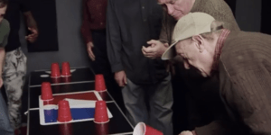 Watch A Bunch Of Old People Beat The Shit Out Of College Seniors At Drinking Games