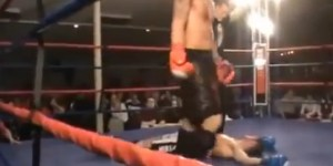 This Might Be The Most Hilarious Self-Knockout In Mixed Martial Arts History
