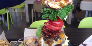 Man Vs. Food: Guy Creates Epic 4lbs McDonald's Monster Burger That Costs $24