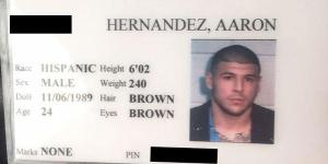 Someone Is Trying To Sell Aaron Hernandez's Jail I.D. Card For $6,000