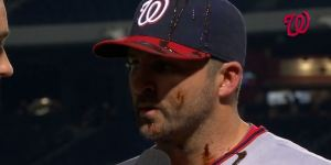 The Washington Nationals Pour Chocolate Syrup On Dan Uggla After His Game-Winning Home Run And It Was Sticky