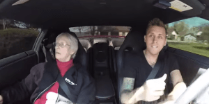 Watch This Guy Prank His Grandma By Having Her Arrested On Her Birthday