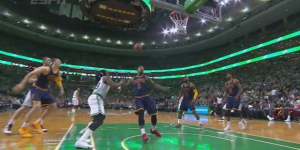 J.R. Smith Gets Ejected For Punching  Jae Crowder In The Face During Celtics-Cavs Playoff Game