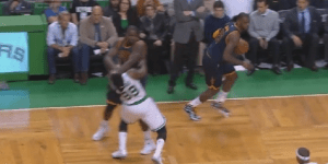 Cavs' Kendrick Perkins Lays Out Jae Crowder On Dirty Play, Then Slaps Him, Somehow Doesn't Get Ejected