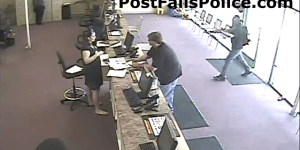 One Man Bank Robbery Only Lasts 60-Seconds, Involves Big Ol' Gun And Minimal Booty