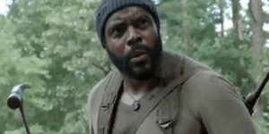 Tyreese From 'The Walking Dead' Goes Ballistic On NYC Subway