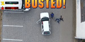 Masterminds Perfectly Create GTA In Real-Life With Drone