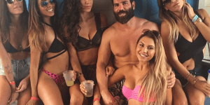 Dan Bilzerian Flies His Private Jet With Topless Models, But Photoshops Man Nipples On Them For Instagram Purposes
