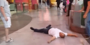 Drunk Dude Not Only Gets Brutally Knocked Out Once On Vegas Strip, But Twice #DEDICATION