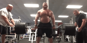 Eddie Hall Is A BEAST! Watch The Strongman Pyramid Deadlift 132-Pounds To 925-Pounds And Back Down