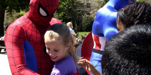 The Awkward Moment That Spider-Man Gives Himself A Concussion At A Children's Birthday Party