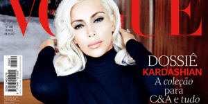 Kim Kardashian Did A Respectable, Fully Clothed Vogue Photoshoot. JK! She's Topless.